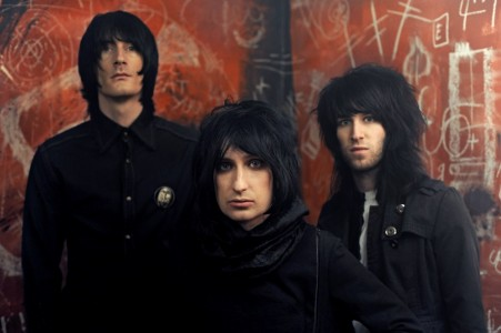 Lost Alone ~ Left to Right ~ Mark Gibson – Drums and Vocals,  Steven Battelle – Vocals Guitar, Alan Williamson – Bass and Vocals