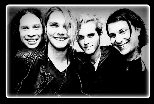 Ray, Gerard, Mikey ant Frank