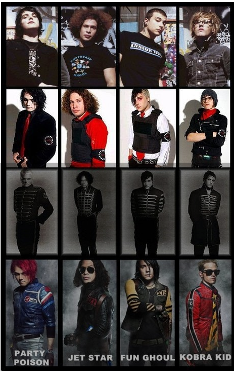 Black Parade to Danger Days ~ The True Lives of the Fabulous Killjoys.. (4/6)
