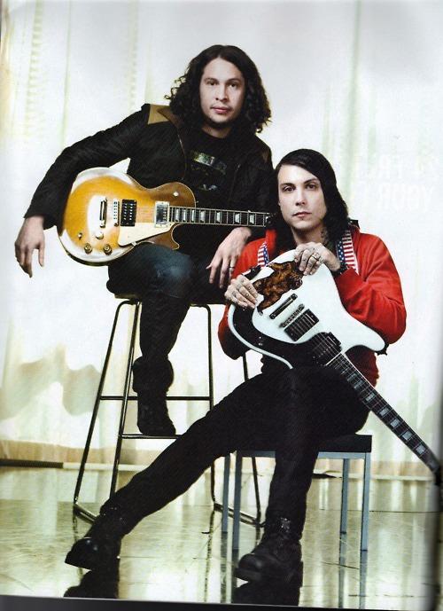 Ray Toro and Frank Iero