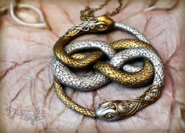 auryn-gold snake jewellery