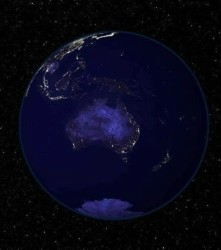 Australia from Space!
