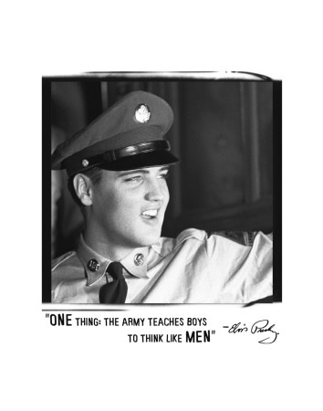 elvis-the-army quote