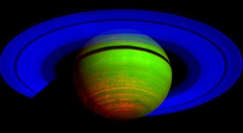 Saturn composite image