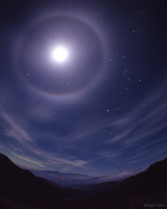 a lunar halo