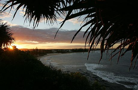 Sunset at the Sunshine Coast