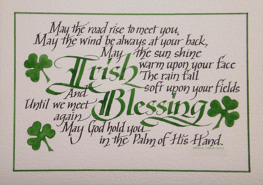 An Ode to St Patrick's Day – Apanache