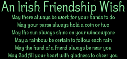 Irish Friendship wish 1