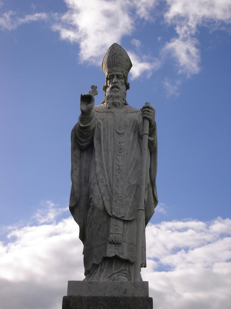 St Patrick's Statue