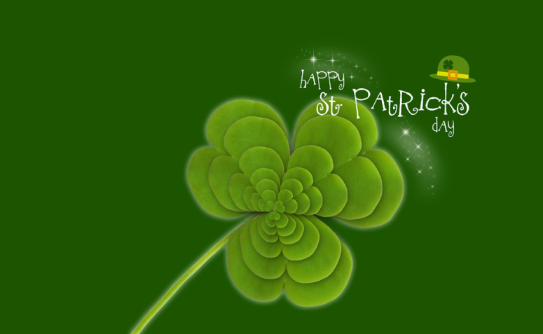 st pats day header