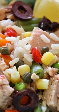 Italian Tuna and Brown Rice Salad (Riso e Tonno) - Skinnytaste