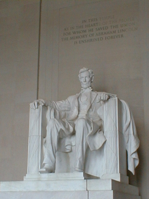 Lincoln Memorial - as in the hearts