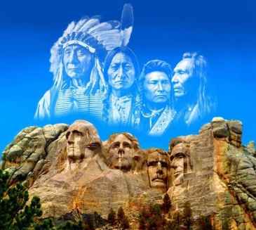 Mount Rushmore- with a differnt view