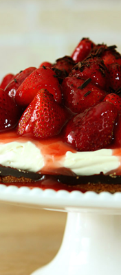 Strawberry Tart with Chocolate Ganache and Mascarpone Cream 1