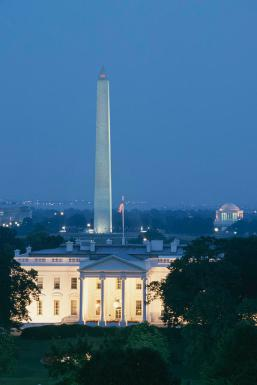 the-white-house-washington-monument- by richard-nowitz