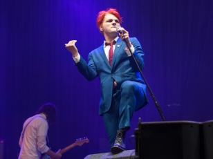 Gerard Way at Leeds Festival, August 2014