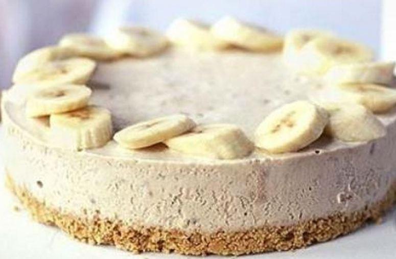 Banana cheesecake 1