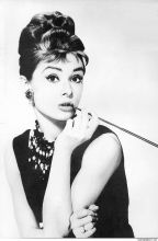 Audrey Hepburn and cigarette holder