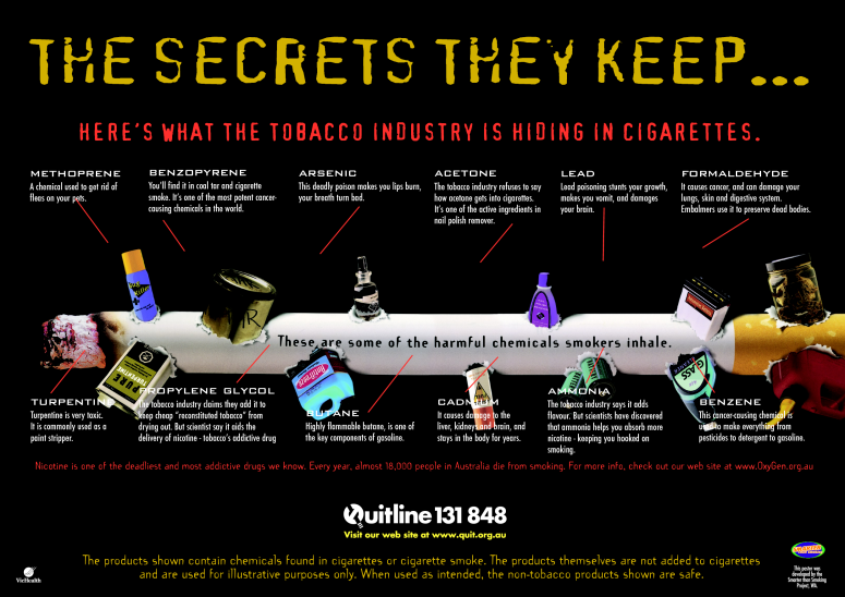 TAKE IT OUT OF THE TOBACCO THEN AS IT'S JUST NOT 'NATURALLY THERE' NOW IS IT!!!!