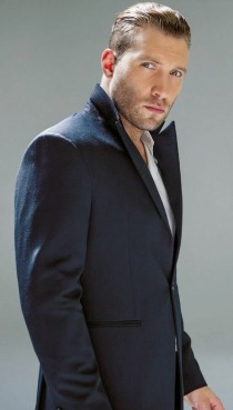 Jai Courtney's 'Cruel Intentions'; Interview, Feature in DaMan Magazine ~ Suit by Emporio Armani, shirt by Giorgio Armani