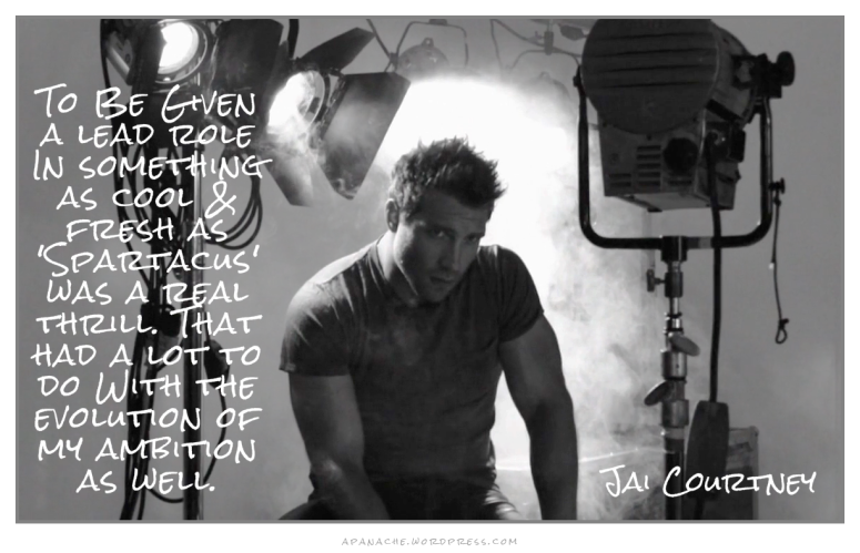 jai courtney quote ~ apanache