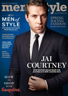 a Mens Style Magazine Australia - Spring 2016 featuring Jai Courtney