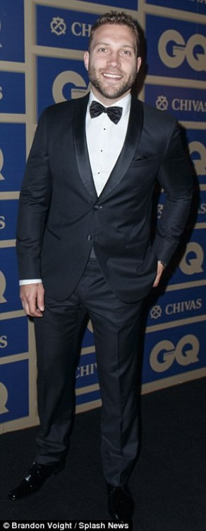 Jai Courtney at the GQ Awards, 2015