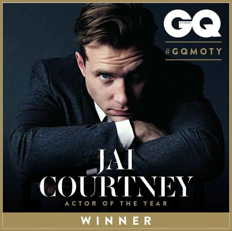 Jai Courtney GQ's Actor of the Year Award Winner