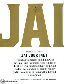 jai courtney cover gq Nov 2015