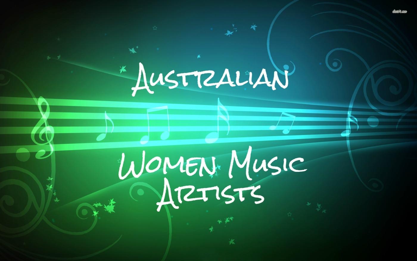Australian Women-Music Artists