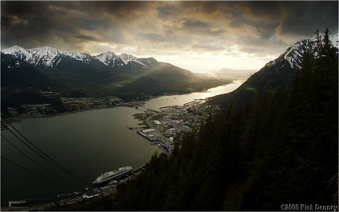 Juneau Sunset by Rick Denney (image linked)