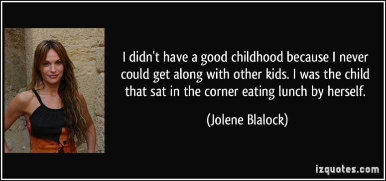 tpol - Jolene Blalock Quote